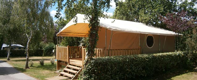 Location lodge camping Bretagne