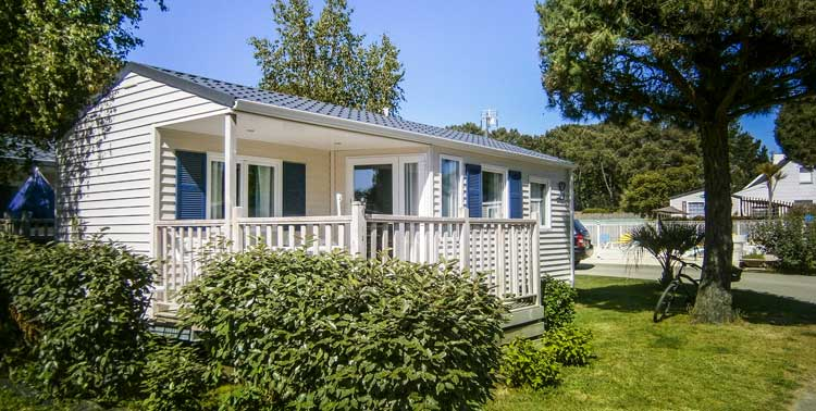 camping mobil-home 2 chambres bretagne
